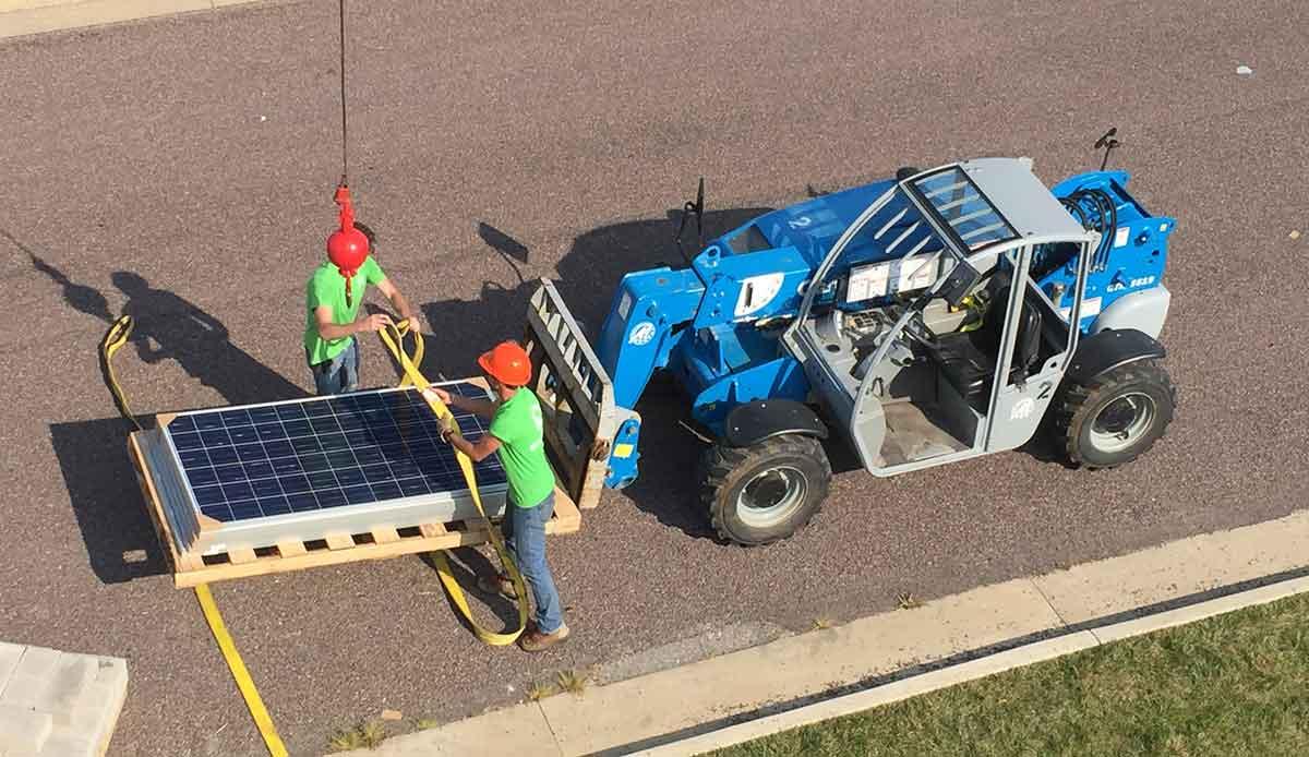 Solar financing company