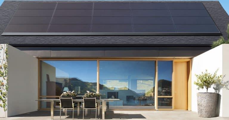 Black-Tesla-Solar-panels