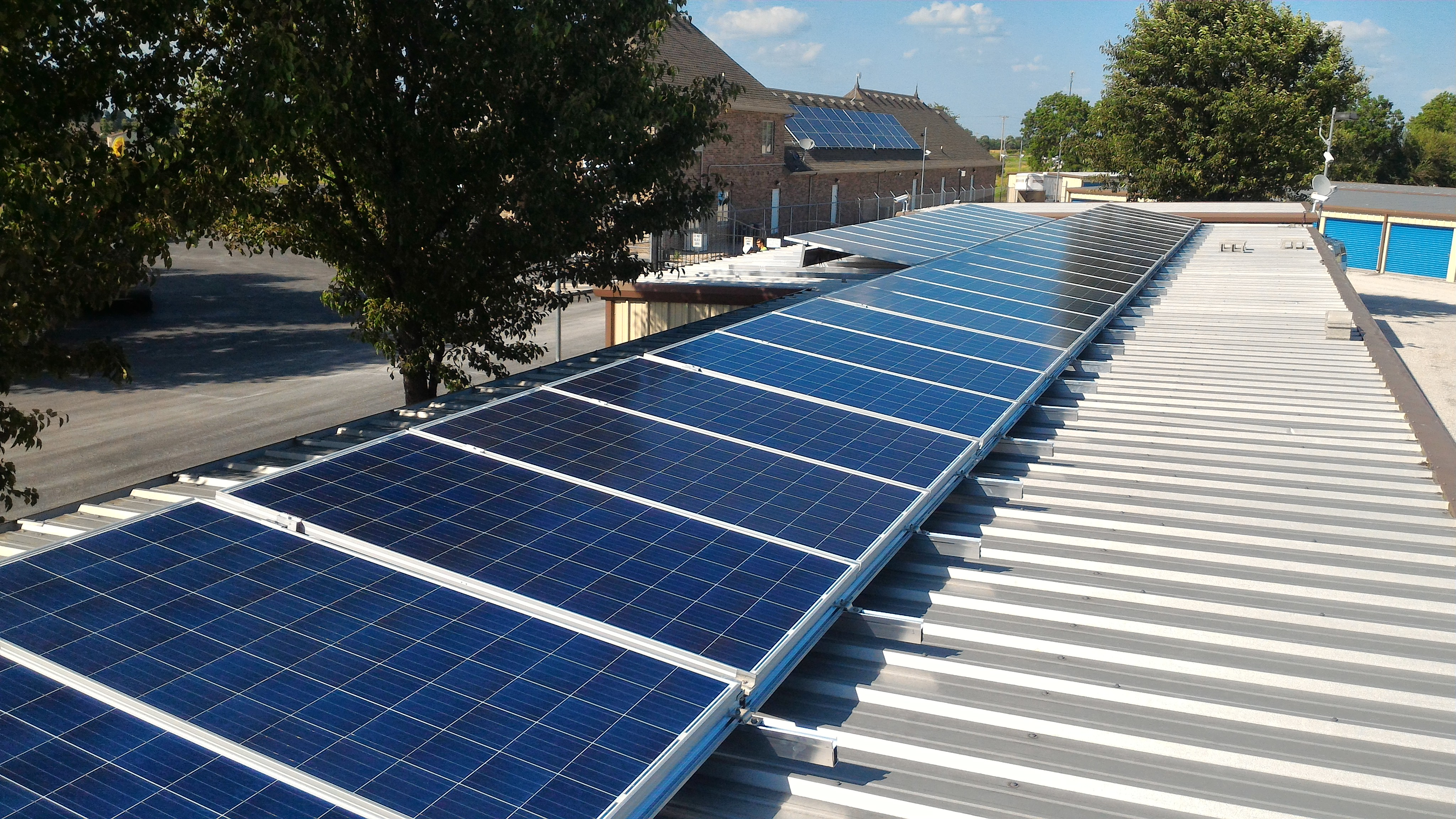 solar energy for commercial building