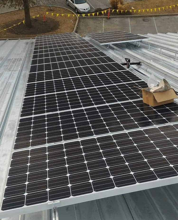 Commercial solar case study