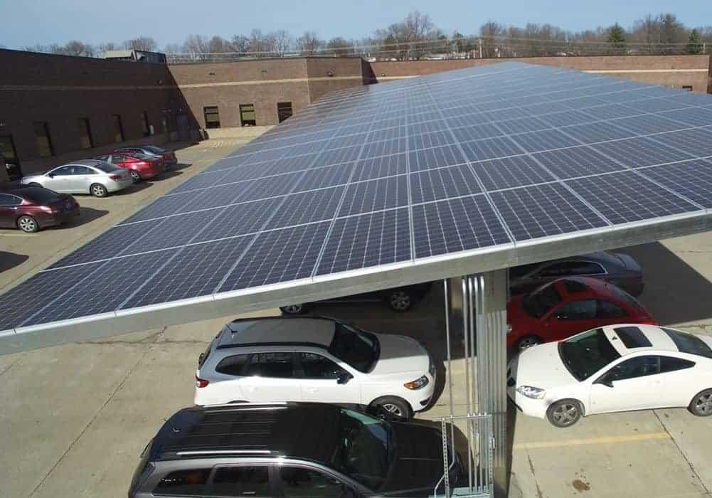 Faber & Brand Solar Carport