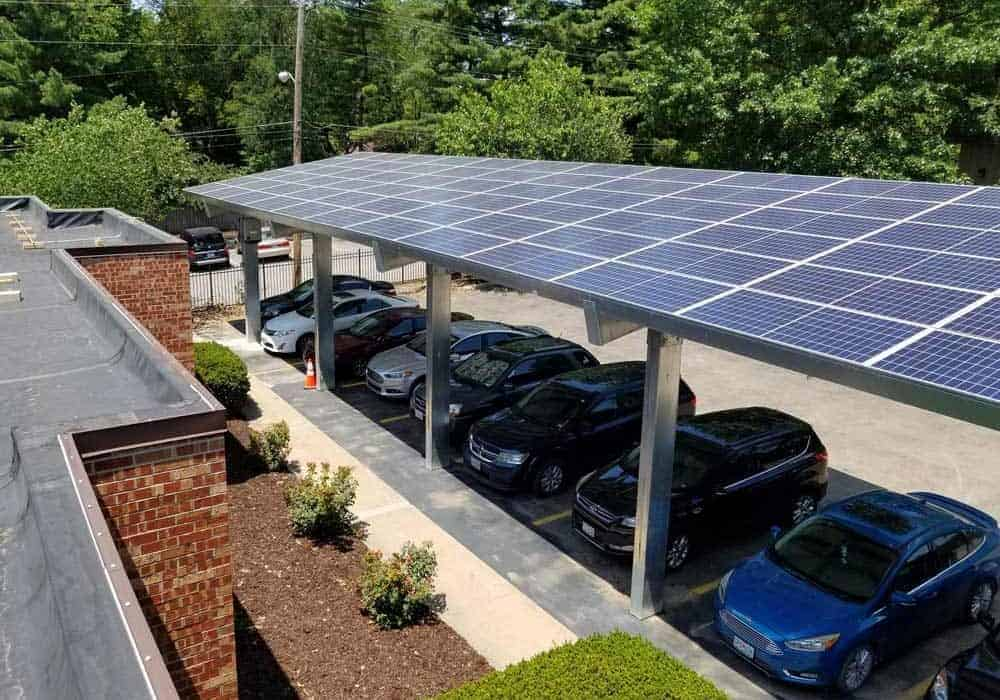 Doctors Park Solar Carport
