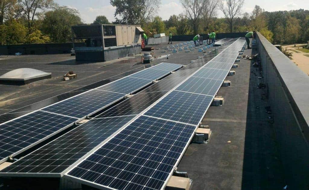 Faber & Brand Solar Install