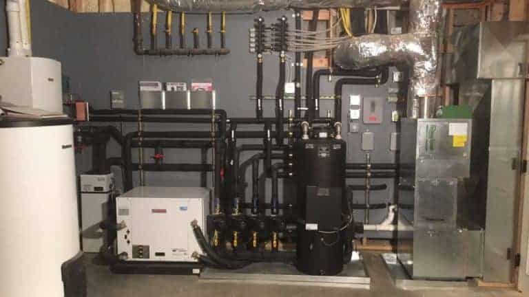 Commercial boiler system installation services