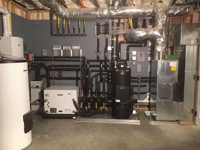 Commercial boiler system services