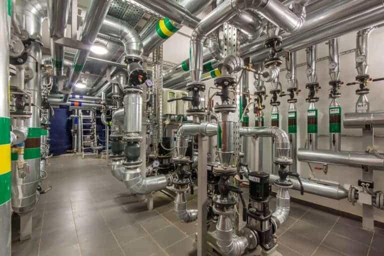 Commercial boiler system