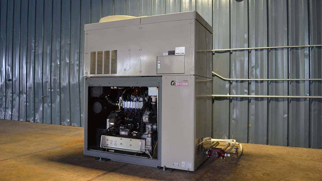 Modular CHP Unit