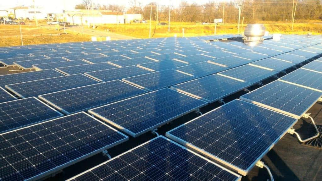 NSI Jefferson City - Rooftop Solar Array