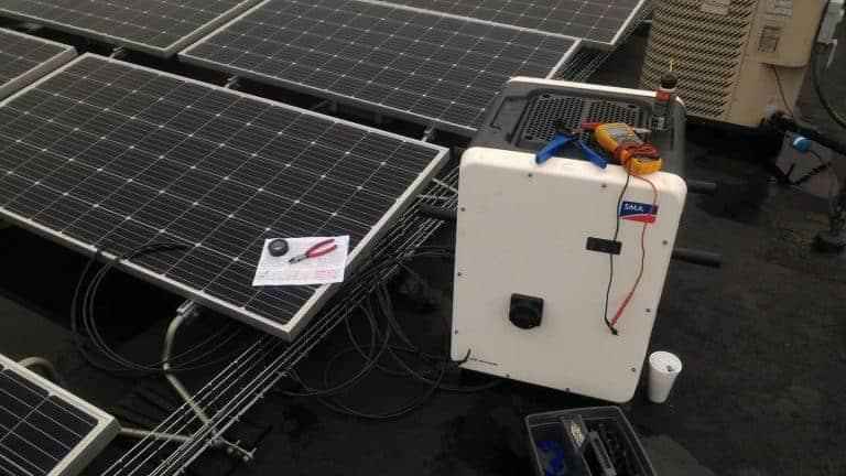 NSI Jeff City Solar Close Up