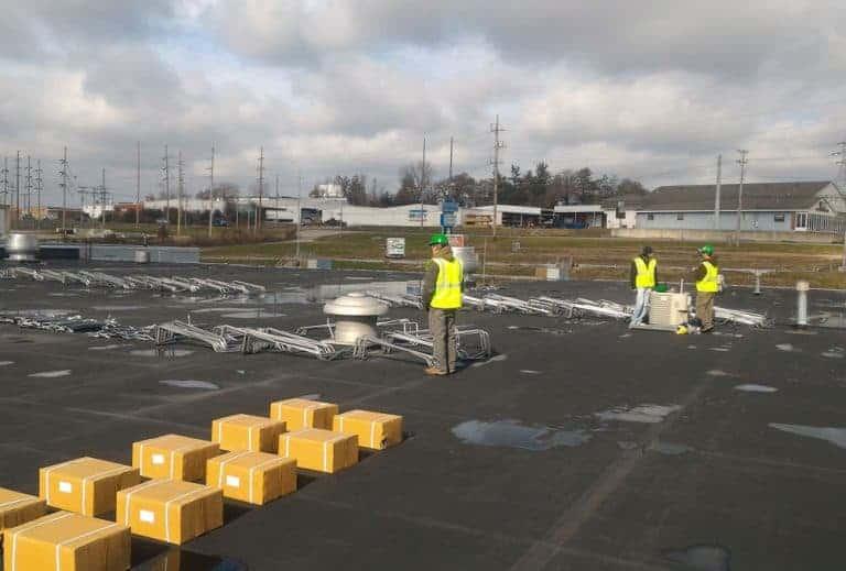 NSI Jeff City Solar Construction
