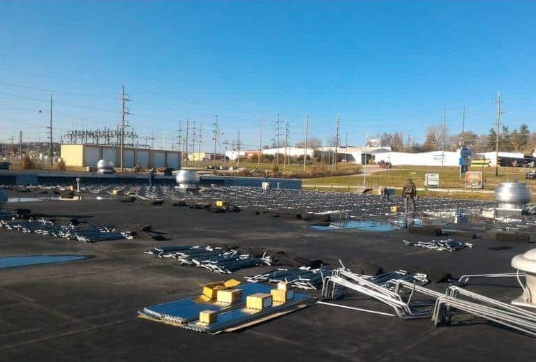 NSI Jeff City Solar Racking