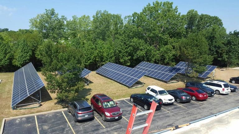 Commercial Ground Mount Solar Array