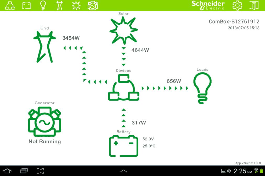 Commercial Battery Control Portal