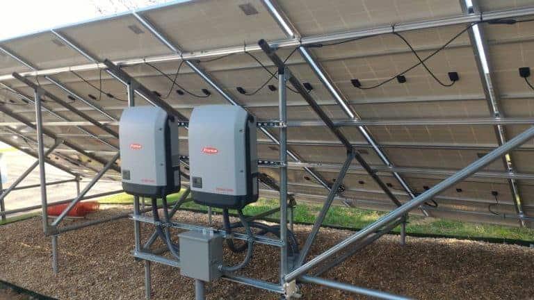 TelGaAs Groundmount Array Inverters