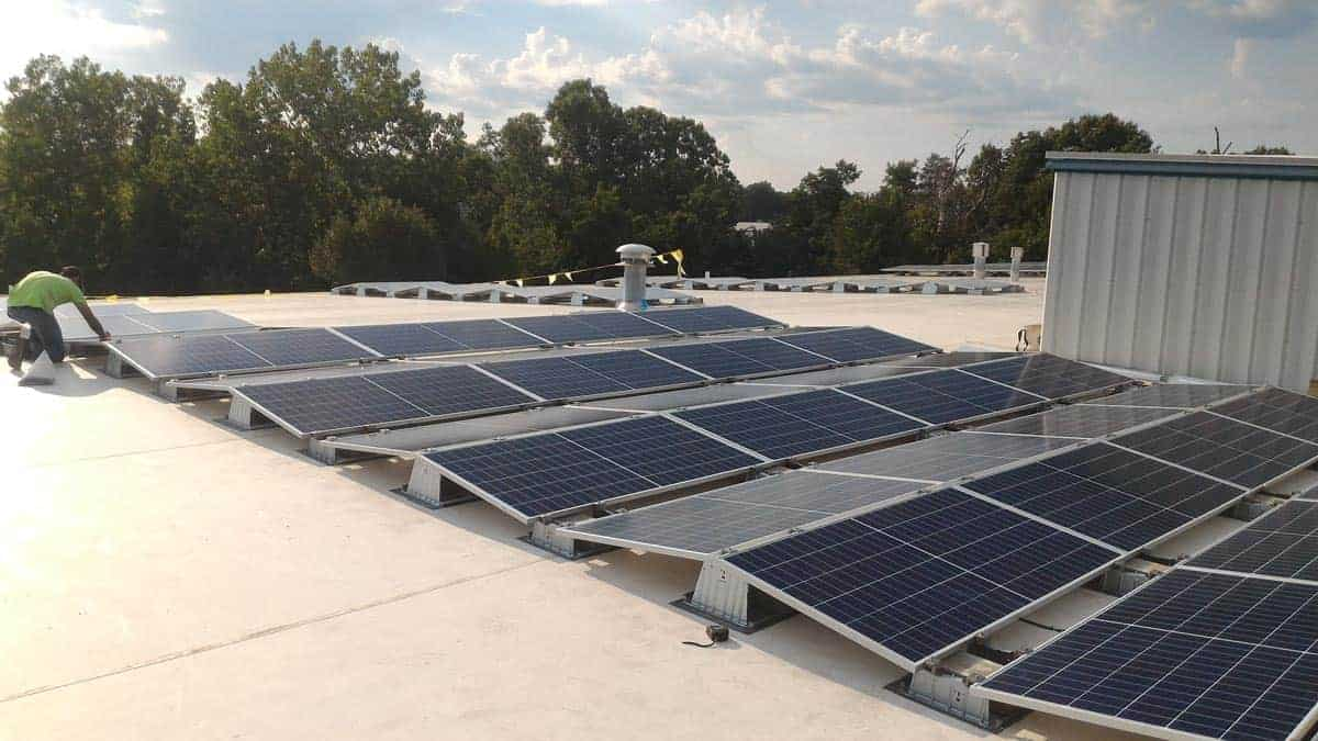 TelGaAs New Rooftop Solar Array