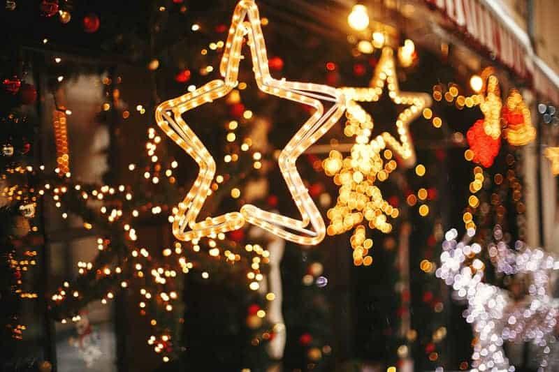 Holiday star lights