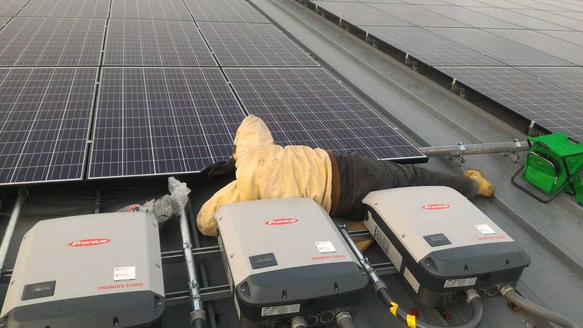 Ike Skelton Solar Install