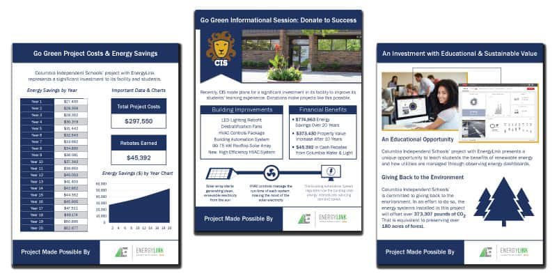 Columbia Independent Schools Project Posters