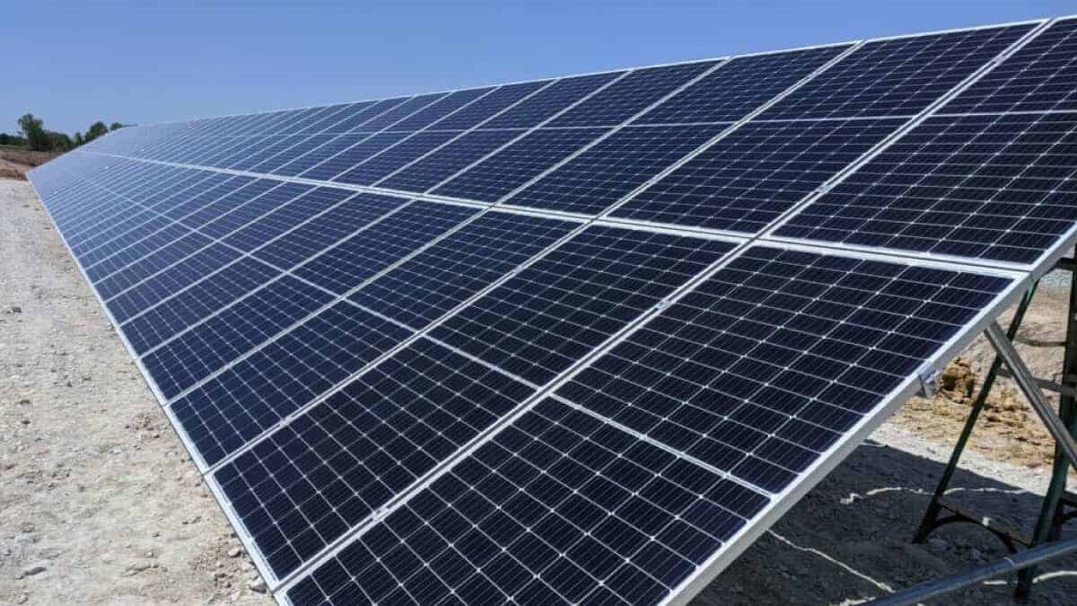 Lincoln Waste Water Treatment Plant Ground Mount Solar Array