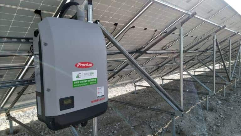 Lincoln Waste Water Treatment Plant Solar Inverter