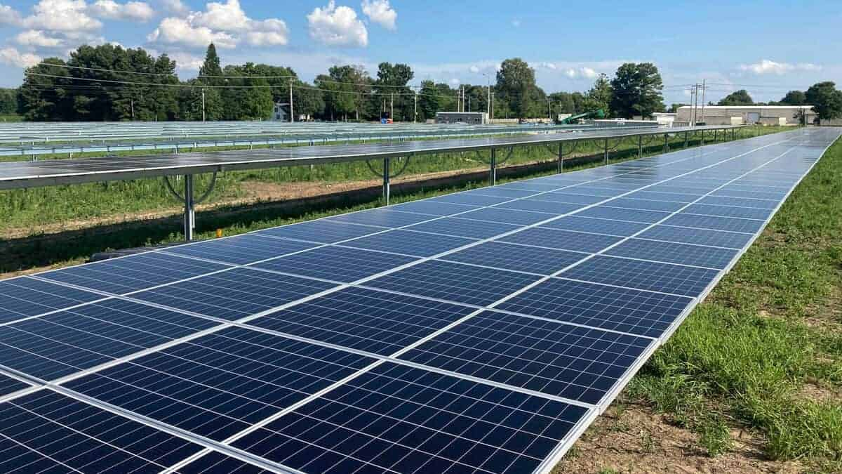 Utility Scale Solar Panels