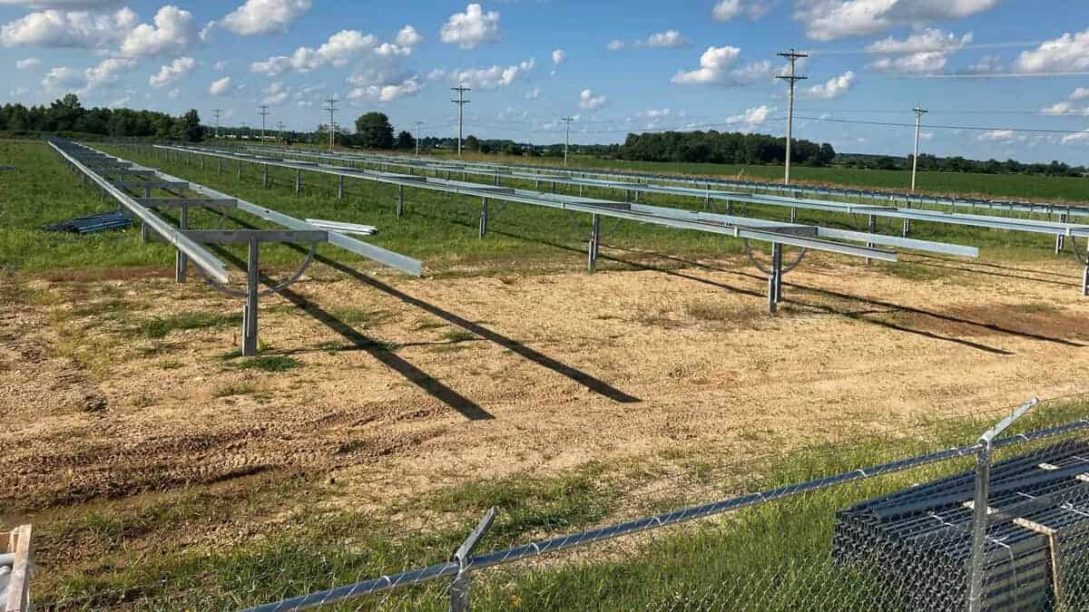 Utility Scale Solar Racking & Fencing