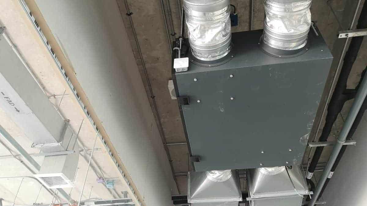 Commercial ERV System / HVAC Ductwork