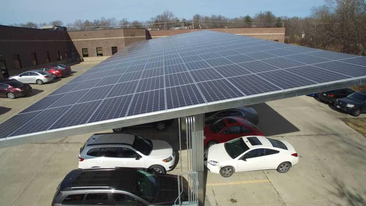 Solar Carport | Designed, built, and installed by EnergyLink