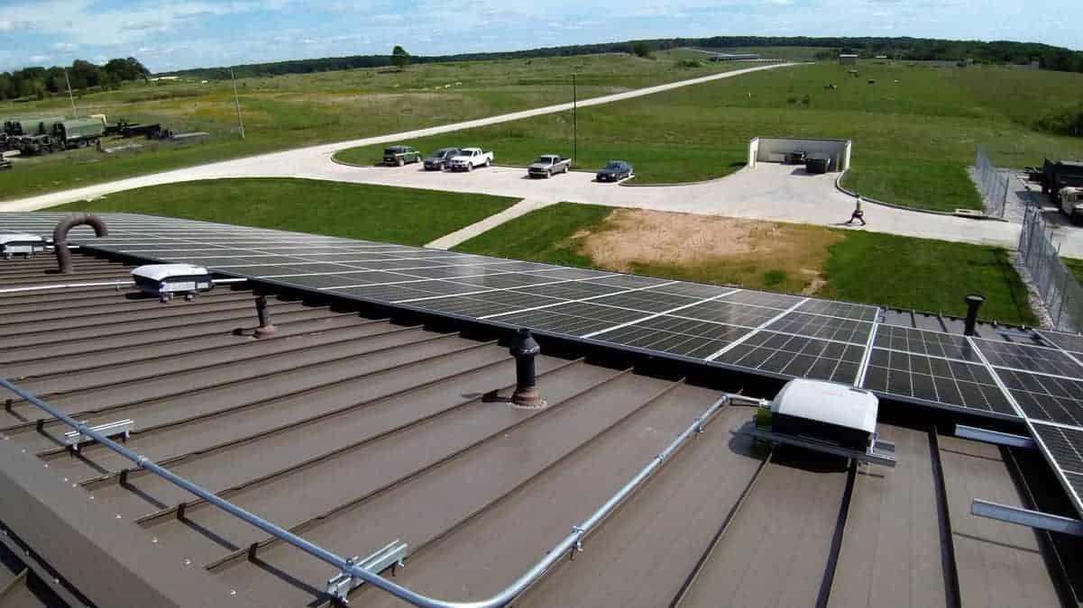 Macon - National Guard Solar Install Pic 2