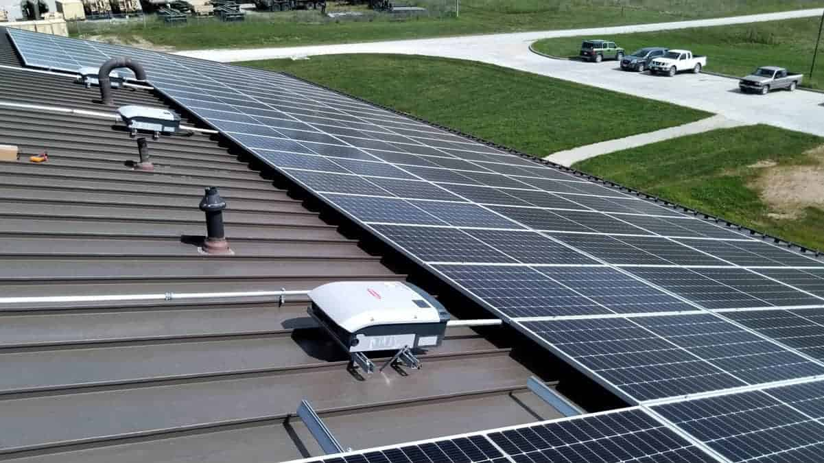 Macon - National Guard Solar Install Pic 3
