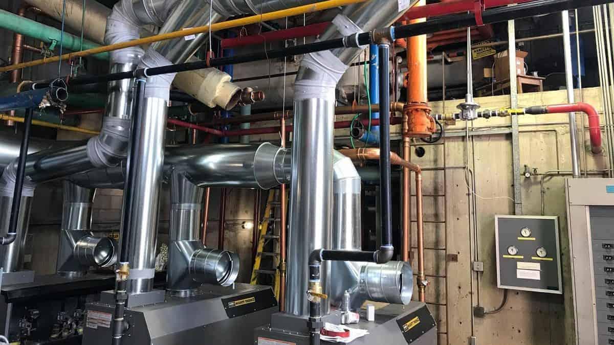 Oxford Vista - New Boiler System
