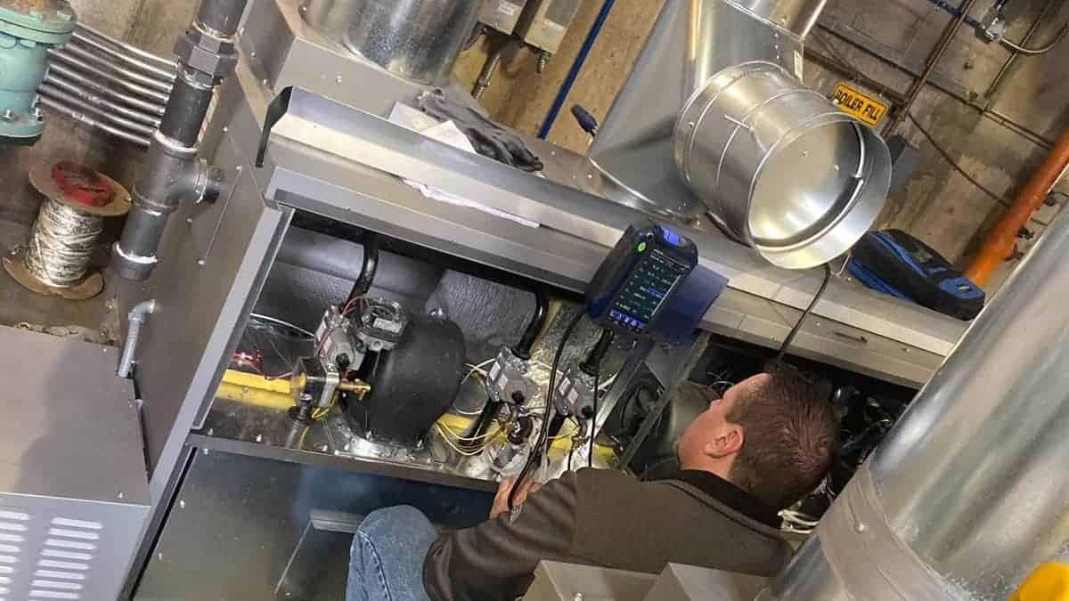 Oxford Vista Boiler System Install
