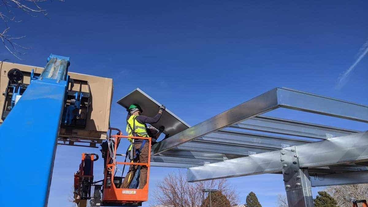 Oxford Vista Solar Carport Install