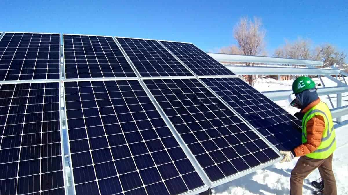 Oxford Vista Solar Install Pic 2