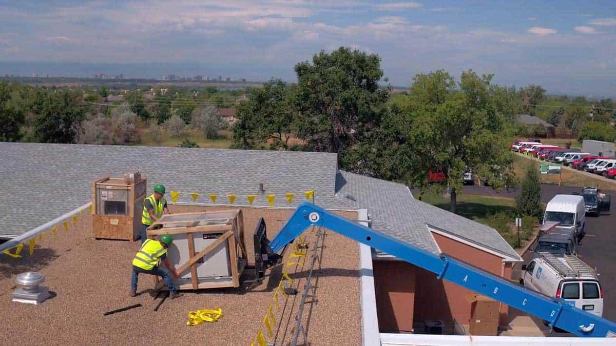 Oxford Vista HVAC Unit Install