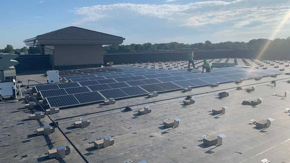 Shelter Insurance Solar Install Pic 4