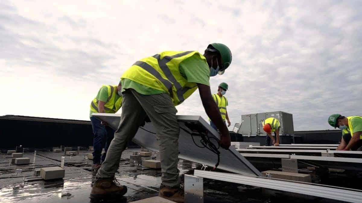 Shelter Insurance Solar Install Pic 2