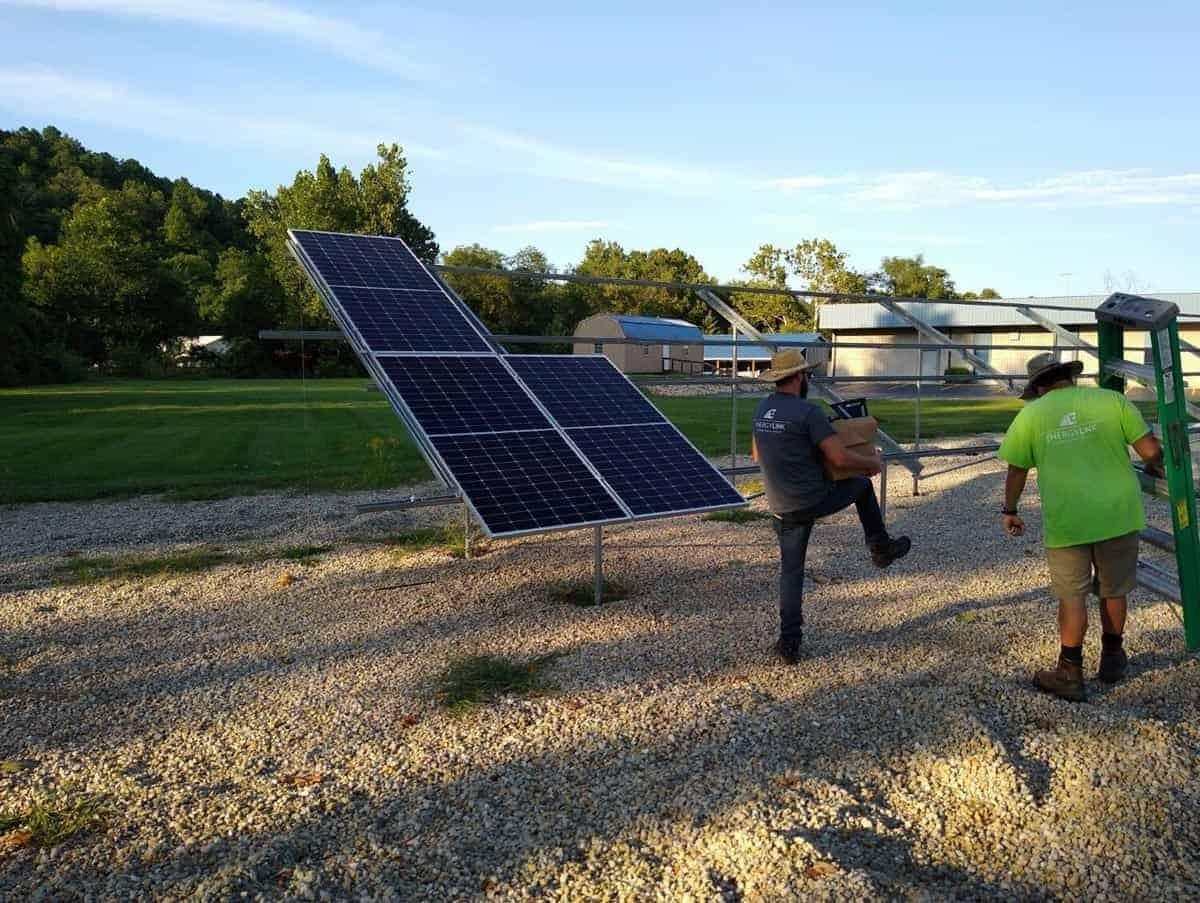Steelville Telephone Exchange Solar Install Pic 4