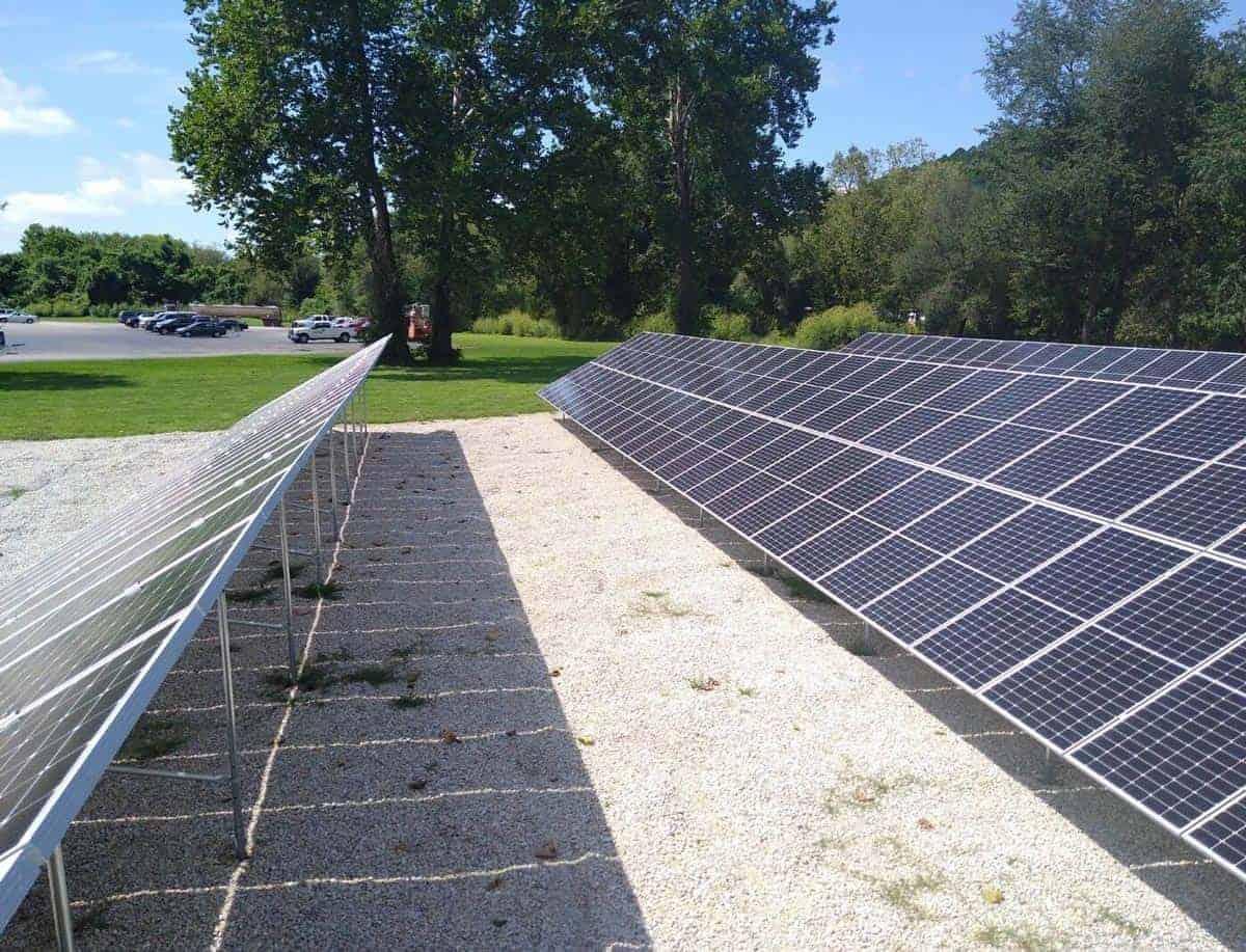 Steelville Telephone Exchange Solar Install Pic 3