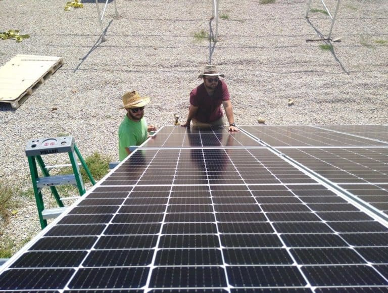 Steelville Telephone Exchange Solar Install Pic 2