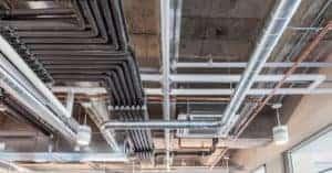 HVAC overhead system