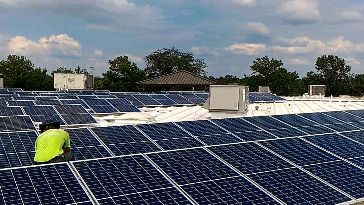 Solar Installation Pic