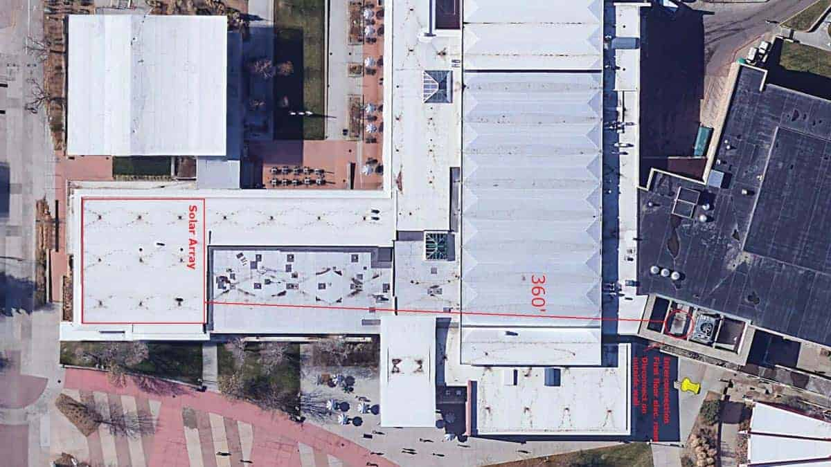 CSU Solar Rooftop Satellite Schematic Design