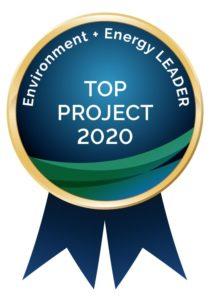 Energy + Environment Leader 2020 Project Award Winner | EnergyLink - Oxford Vista Project