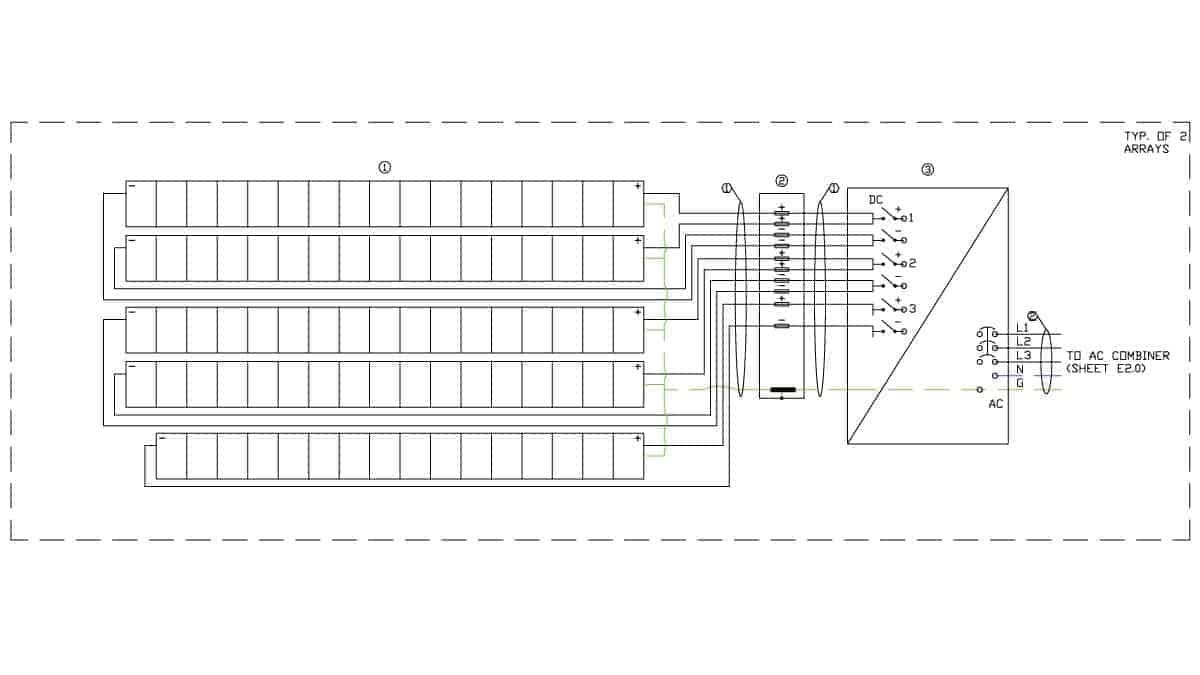 Faircom Solar Schematic Design