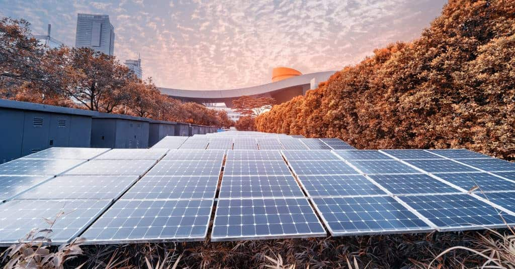 Commercial Solar City Concept