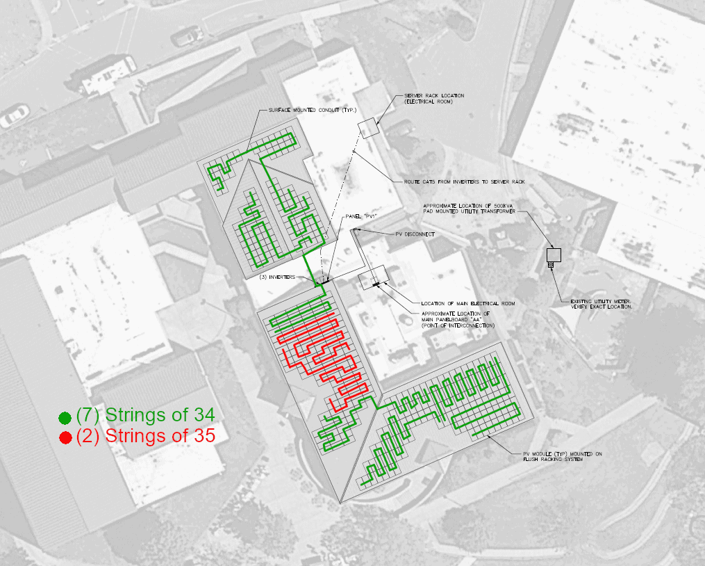 Buncombe County HS Cafeteria Schematic