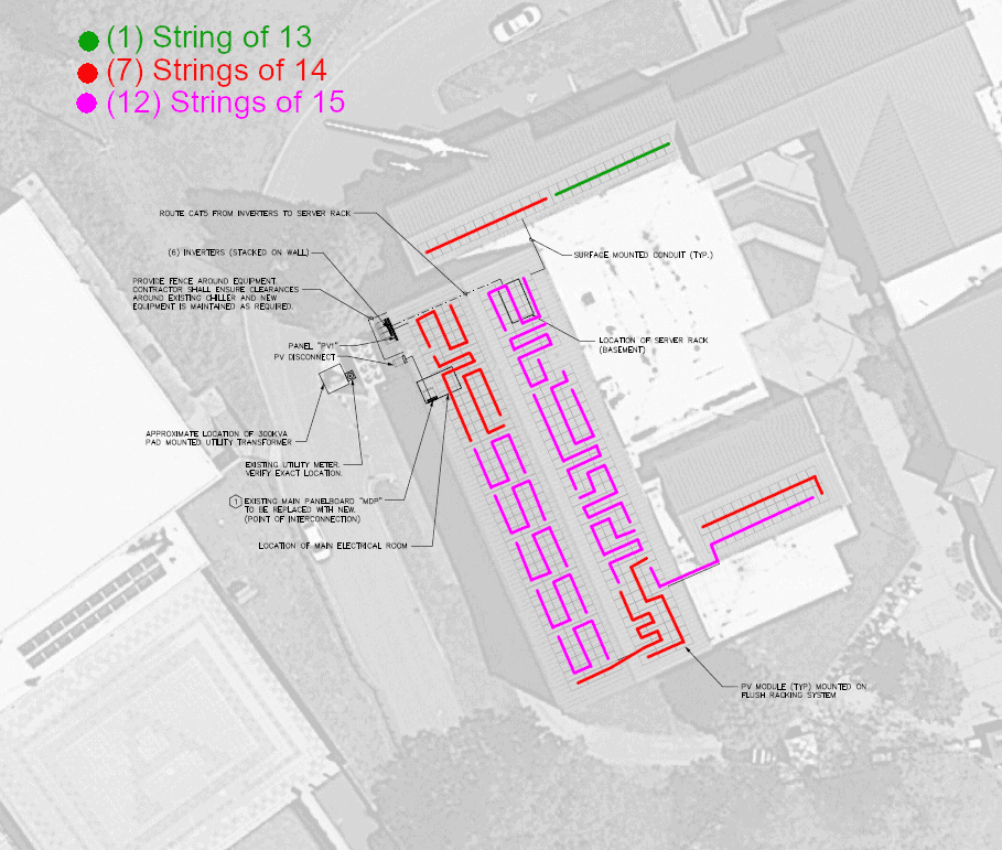 Buncombe County HS Culture and Arts Building Schematic