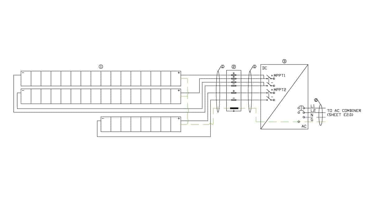 Dogwood Animal Clinic Solar Electrical Design