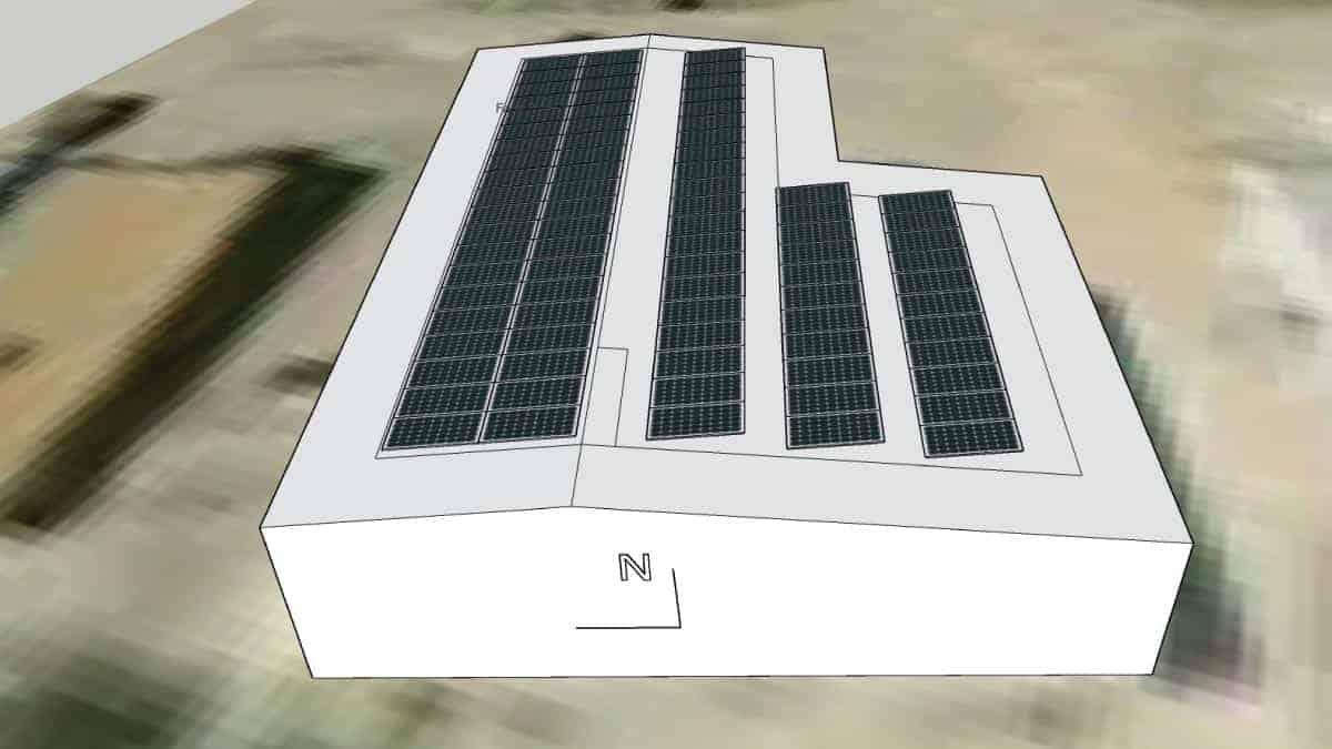 Dogwood Animal Clinic Solar Rendering 2